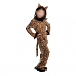 Cat Girl Costume Animal Cheetah