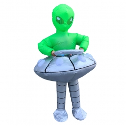Inflatable Alien Costume UFO