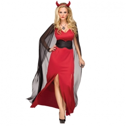 Halloween Costumes Scarlet Witch Devil Cow Demon King Dress