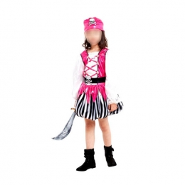 Pirates of the Caribbean Costumes Pink Kids
