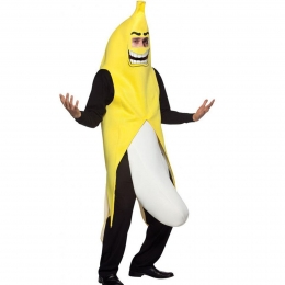 Adults Halloween Costumes Funny Banana Suit