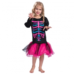 Day of the Dead Costume Girl Set
