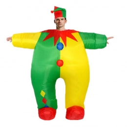 Inflatable Costumes Clown Doll