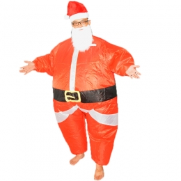 Inflatable Costumes Fat Santa Claus