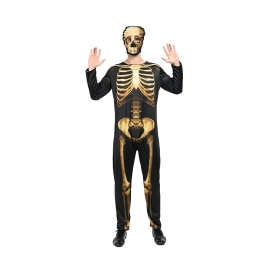 Day of the Dead Costume Golden Clothes
