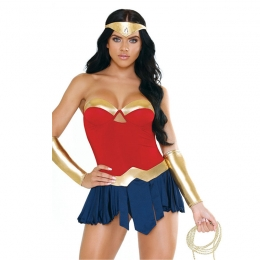 Sexy Halloween Wonder Woman Costumes Cosplay Performance