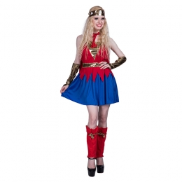 Women Halloween Costumes Superman Outfit