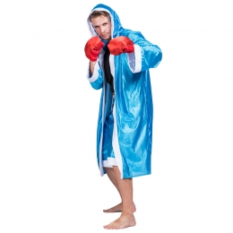 Men Halloween Boxer Costumes Stage Outfit