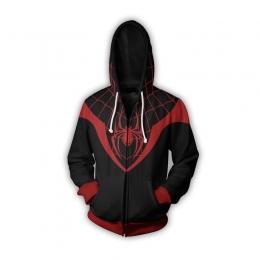 Spiderman Costume Kids Amazing Black Coat