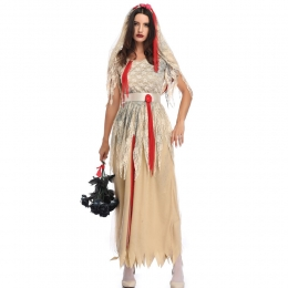 Ghost Zombie Bride Adult Costume