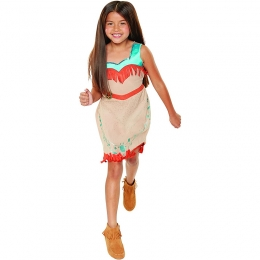 Pocahontas Indian Princess Dress Kids Costume