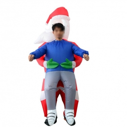 Inflatable Costumes Santa Claus Hugs