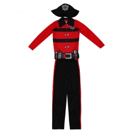 Brave Little Firefighter Boy Costume
