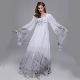Women Halloween Costumes Vampire Bride Horror Style