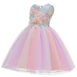Disney Costumes for Kids Flower Print Dress