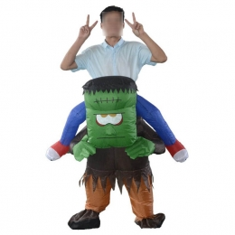 Inflatable Halloween Costumes Monster