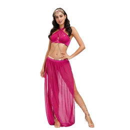 Sexy Halloween Costumes Indian Dancer Clothes