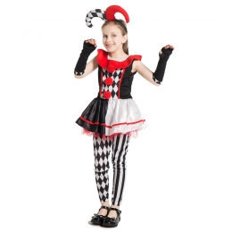 Variety Harlequin Girl Costume