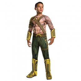 Justice Dawn Aquaman Boy Costume