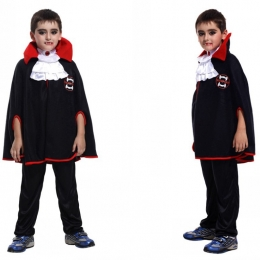 Vampire Costume Kids Noble Cloak