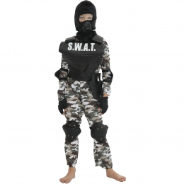 Kids Halloween Costumes Counter Strike Uniform