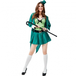 St. Patrick's Day Irish Leprechaun Women Costume