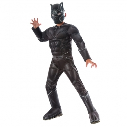 Black Panther Deluxe Boy Costume
