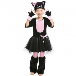 Black Cat Animal Costume