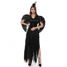 Halloween Costume Angel And Devil Wing Queen Style