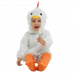 Halloween Costumes Baby White Chicken Suit