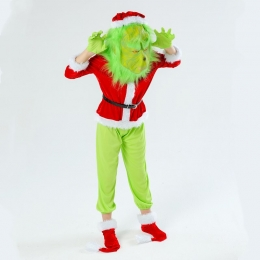 Christmas Costumes Grinch Green Style