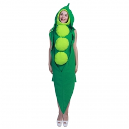 Halloween Costumes Food Peas One Piece Clothes