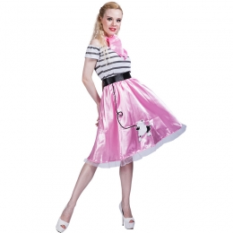 Halloween Costumes Poodle Dress Suit