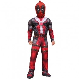 Deluxe Marvel Hero Deadpool Kids Boy Costume