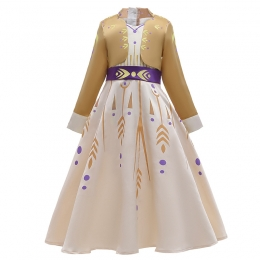 Frozen 2 Costumes Store Elsa Champagne Style