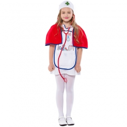 Doctor Professional Girl Costume