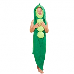 Girls Halloween Costumes Pea Conjoined Outfit