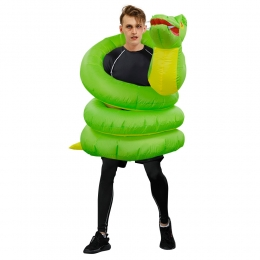 Inflatable Halloween Costumes Animal Python