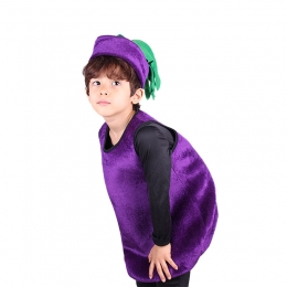 Food Costumes for Kids Eggplant Cosplay