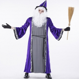 Halloween Costumes The Old Wizard Of Forest Spirit Clothes