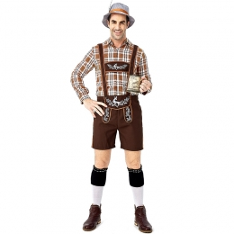 Traditional Oktoberfest Adult Men Costume