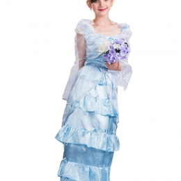 Girls Halloween Costumes Bride Princess Dress