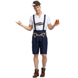 German Traditional Oktoberfest Men Costume