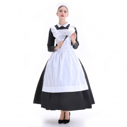 Halloween Costumes French Manor Maid Dress