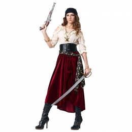 Halloween Costumes Pirate Captain Makeup Dance Party Style