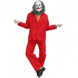 Men Clown Costumes American Film Jacques Phoenix Personalized Suit