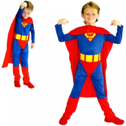 Superman Costume For Kids Tights