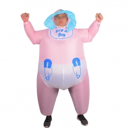Inflatable Costumes Baby Sumo Doll