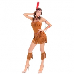 Halloween Costumes Indian Aboriginal Hunter Clothes
