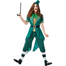 St. Patrick's Carnival Irish Leprechaun Family Costume
